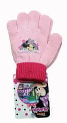 SETINO Disney dívčí prstové rukavice - Minnie mouse - růžová - 12x16 cm