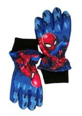 SETINO Marvel chlapčenské lyžiarske rukavice - Spiderman - svetlo modrá