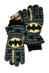 SETINO Marvel chlapčenské lyžiarske rukavice - Batman - sivé