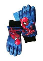 SETINO Marvel chlapčenské lyžiarske rukavice - Spiderman - tmavo modrá