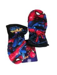"SETINO Chlapčenské rukavice ""Spider-man"" - tmavo modrá"