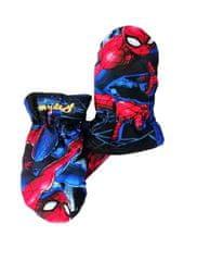 SETINO chlapčenské rukavice - Spiderman - svetlo modrá