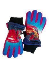 SETINO chlapecké lyžařské rukavice - Cars-McQueen - červená