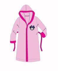 SETINO Dievčenský župan s kapucňou Minnie Mouse - ružová