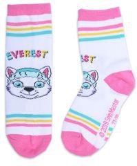 Eplusm Dievčenské vysoké ponožky PAW Patrol Everest - sivé