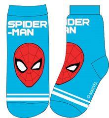 Eplusm Chlapčenské vysoké ponožky Spiderman - modrá