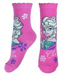 """Eplusm Dievčenské vysoké ponožky """"Frozen II """" - ružová"""