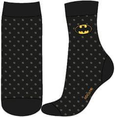 """Eplusm Chlapčenské vysoké ponožky """"Batman"""" - čierna"""