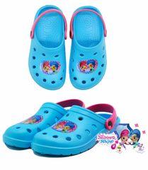 SETINO Dievčenské sandále Shimmer - modrá