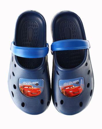 """SETINO Sandały chłopięce """"Disney auta"""" - ciemny niebieski - 33/34"""