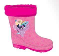 SETINO Lányok esőcsizmái szigetelt kis póni - rózsaszín