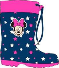 Eplusm Disney dievčenské gumáky Minnie - modrá