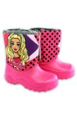 SETINO Dívčí zimní boty - sněhule - Barbie - růžová