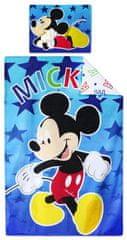 SETINO chlapčenské bavlnené obliečky Mickey Mouse - 90x140, 55x40