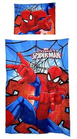"""SETINO Pościel dziecięca """"Spiderman"""" - 155x200, 50x80 czerwony"""