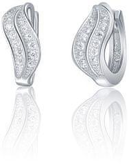 JVD Błyszczące srebro Kolczyki SVLE0569XD5BI00 srebro 925/1000