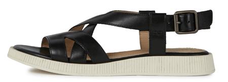 Geox ženski sandali Taormina D02H0F 00043, 36, črni