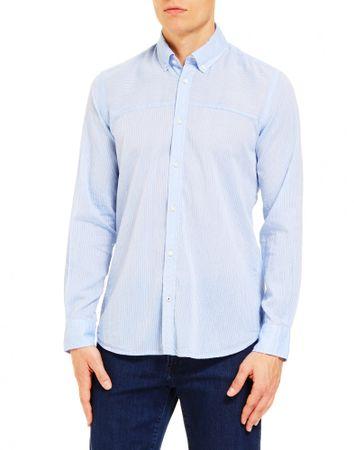 Trussardi Jeans moška srajca (52C00144-1T003586), modra, 42