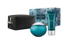 Bvlgari Aqva Pour Homme - EDT 100 ml + balzám po holení 100 ml + kosmetická taštička