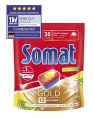 Somat Gold Lemon Doypack 36 tabletta