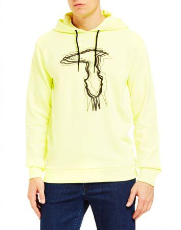 Trussardi Jeans bluza męska 52F00111-1T003820 S żółta