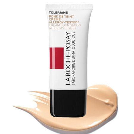 La Roche - Posay Krem nawilżający do makijażu Toleriane SPF 20 ( Foundation Allergy -Tested) Cream ( Foundation Aller (cień 02 Light Beige)