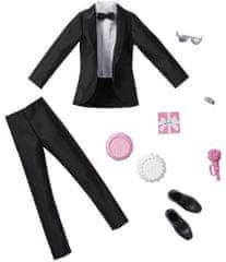Mattel Barbie Svatební oblek a doplňky pro Kena GHX74