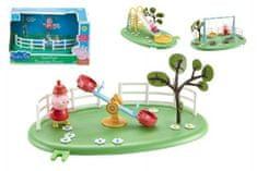 TM Toys Herné prvky ihrisko + figúrka Prasiatko Peppa plast asst 4 druhy v krabici 28x16x17cm