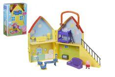 TM Toys Prasiatko Peppa / modré plavky plast domček s figúrkou s doplnkami v krabici 22x32x10cm