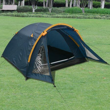 Namiot 3-osobowy, niebieski