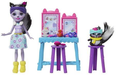 Mattel Enchantimals zestaw Sage Skunk i Carper