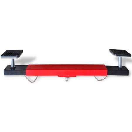 shumee Prečni Adapter za Nosilce / Gredi 2 Tonski Rdeče Barve