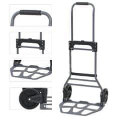 shumee Skládací ruční vozík hliníkový 130 kg