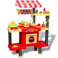 Kuchnia dla dzieci Duża Czerwona