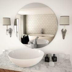 shumee Nástěnné zrcadlo 70 cm kulaté sklo