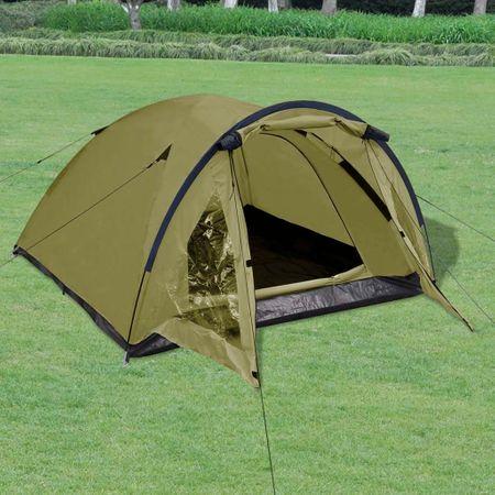 shumee 3 személyes zöld sátor