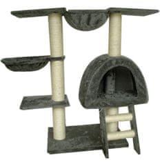 Drapak dla kota 105 cm Pluszowy Szary