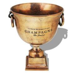 shumee Pohár, chladící nádoba na šampaňské měď hnědá