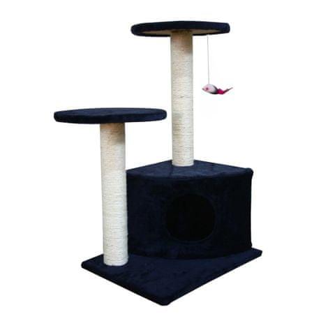 Drapak dla kota (70 cm) plusz, niebieski/ grafit