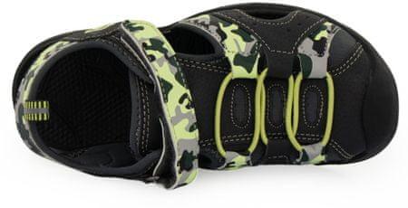 ALPINE PRO obuća za dječake BIELO KBTR237779G, 28, crna
