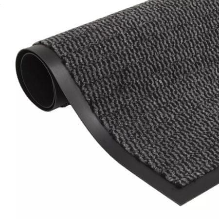 shumee négyszögletes szennyfogó szőnyeg 40 x 60 cm antracitszürke