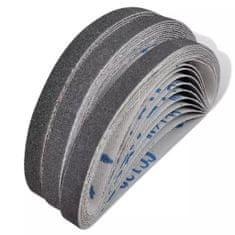 Airpress Taśmy szlifierskie do szlifierek pneumatycznych, 30 szt., 10 x 330 mm