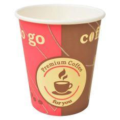 Kubki jednorazowe, papierowe, na kawę 1000 szt., 240 ml (8 oz)