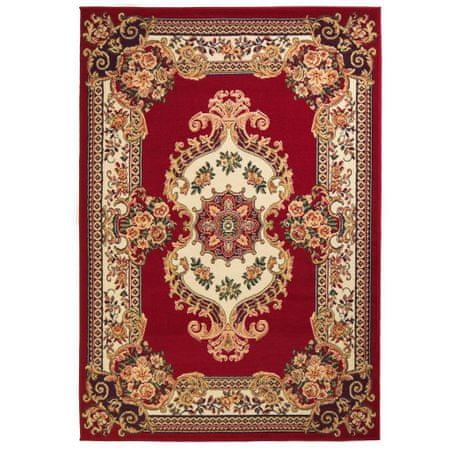 shumee vörös/bézs keleti szőnyeg 140 x 200 cm