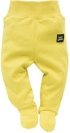 PINOKIO fantovske hlače za dojenčke Funny Dog, 56, rumene
