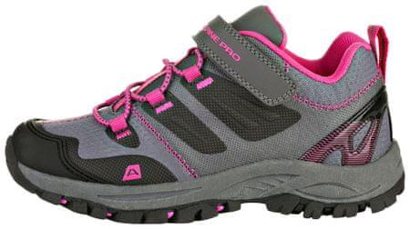 ALPINE PRO obuća za djevojčice MIKIRU KBTR217452, 28, siva