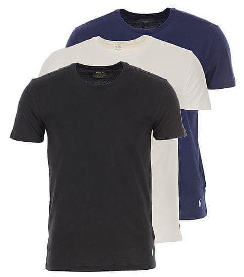 Ralph Lauren trojité balenie pánskych tričiek 714709274006 S viacfarebná