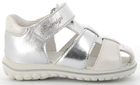 Primigi 5365555 dekliška celoletna obutev, 19, srebrna