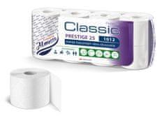 Almus Toaletní papír Almusso Classic Prestige 25 m, 3-vrstvý, 8 rolí