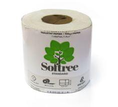 CEREPA Toaletní papír Softree Standard 1-vrstvý 36 m, 64 rolí